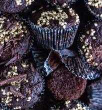 Grikiniai šokoladiniai keksiukai