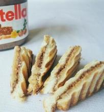 Sumuštinis su žemės riešutų sviestu ir Nutella