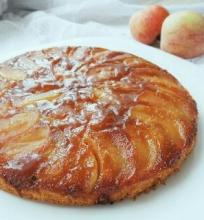 Karamelinis apverstinis obuolių pyragas