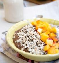 Šokoladinis pusryčių pudingas