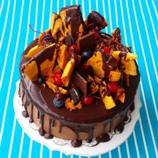 Ekstremaliai šokoladinis tortas