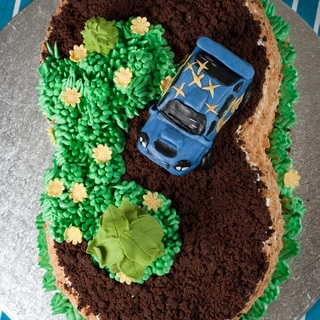 Mažiaus gimtadienio tortas
