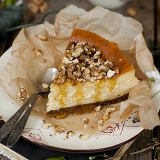 Moliūginis sūrio tortas