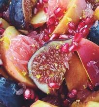 Rudeniškos vaisių salotos