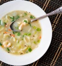 Azijos skoniai, krevečių sriuba