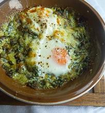 Kepti žalieji kiaušiniai