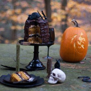 Moliūginis-šokoladinis tortas