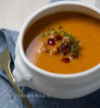 Indiška moliūgų sriuba