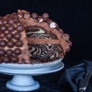Zebrinis tortas