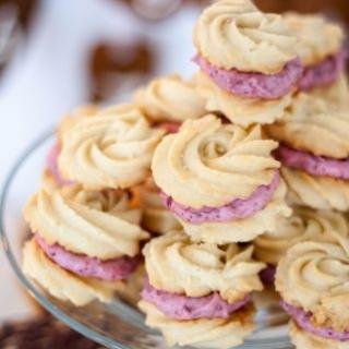 Sviestiniai sausainiai suvožtiniai