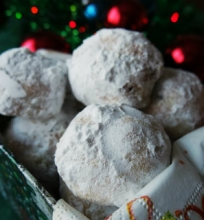 """Sausainiai """"Sniego gniūžtės"""""""