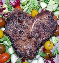 jautienos steikas su kavos ir sojos marinatu