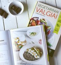 """Šviežutėlė knyga """"Vegetariniai valgiai"""""""
