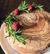Šokoladinis karamelinis tortas