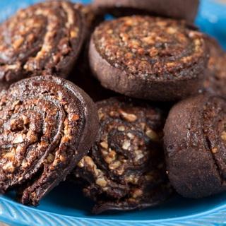 Sausainiai su Nutella ir riešutais