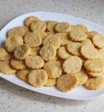 Pikantiški sūrio sausainai