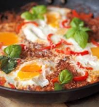 Pomidoras ir kiaušinis