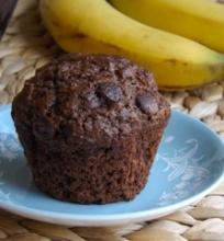 Šokoladiniai bananiniai keksiukai
