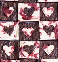 Aksominės ir šokoladinės širdelės