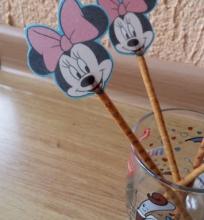 Dekoruotos saldžiosios lazdelės