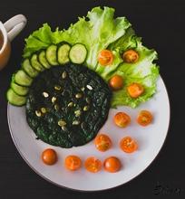 Žaliasis ir sveikasis šreko omletas