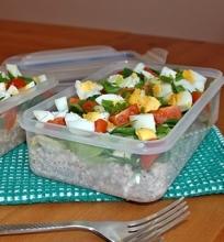 Grikių salotos