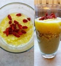 4 sveikų kokteilių variantai pusryčiams