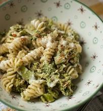 Makaronai su kreminiais brokoliais