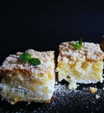 Arbatinis varškės pyragas