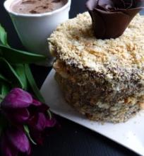 Šokoladinis tortas Napoleonas