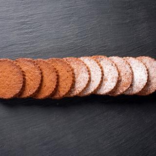 Karameliniai sausainiai pagal Luca Montersino