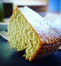 Žaliosios arbatos pyragas
