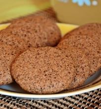 Kama miltų sausainiai su šokoladu