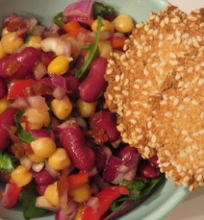 Veganiškos salotos
