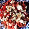 Pomidorų ir ožkos sūrio salotos