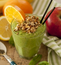 Žaliasis avokadų kokteilis