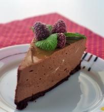 Šokoladinis varškės tortas