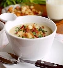 Topinambų sriuba