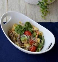 Makaronai su jautiena ir daržovėmis