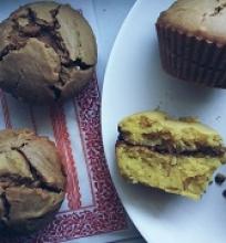 Šokoladiniai keksiukai be kiaušinių