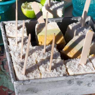Veganiškas ledų sluoksniuotis