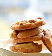 Sviestiniai sausainiai su karamelės gabaliukais