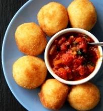 Risotto balls (daugiaryžio užkandis)