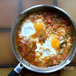 Kiaušinienė su pomidorais