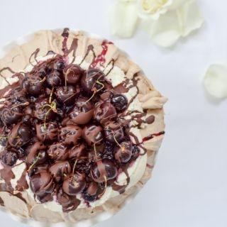 Šokoladinė pavlova