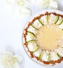 Pyragas su žaliųjų citrinų įdaru