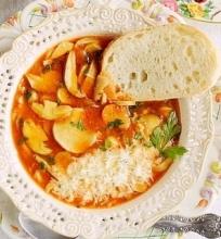 Itališka miško grybų sriuba