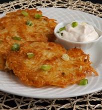 Bulvių ir sūrio blynai