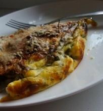 Omletas, beveik pica