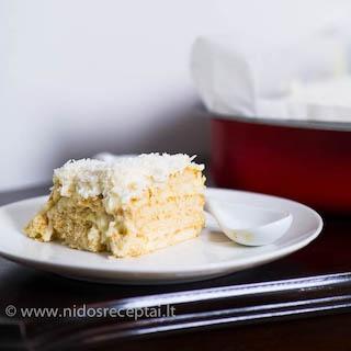 Nekeptas tortas Rafaello